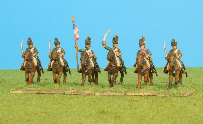 Révolution Française  (MaJ 10e Rgt de Hussards) FR_19eRgtChasseursCheval_1