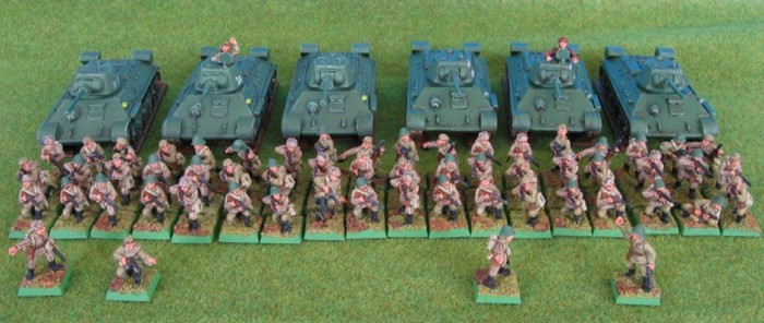 Mounted Infantry Platoons