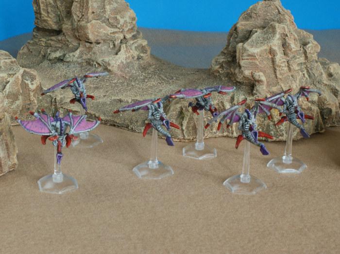 Flotte Ruche Dagon Tyranids_GargoylesBrood2_3