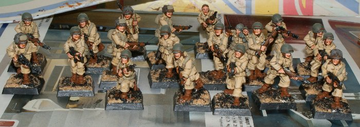 Painting US Paratroopers